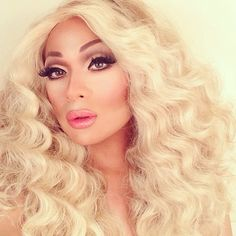 So flawlessly beautiful! Vivienne Pinay of RuPauls Drag Race used #Sugarpill, #Inglot and #MACcosmetics to create this gorgeous Naturally Drag look. Shes got the face of a goddess!!