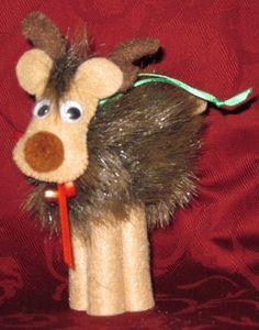 Adorable Reindeer Ornament