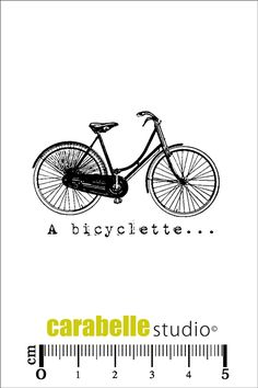 Tampon : A bicyclette