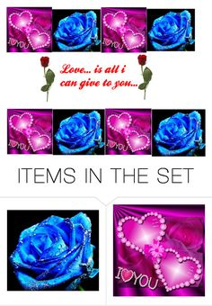 """Love...is I can give to you"" by lovlylivi ❤ liked on Polyvore featuring art and love"