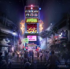 Fremont Street Experience Reveals Plans for SlotZilla