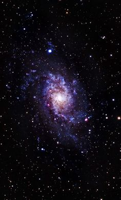 The Pinwheel Galaxy (M33) Messier 83 is a barred spiral galaxy approximately 15 million light-years away in the constellation Hydra. It is one of the closest and brightest barred spiral galaxies in the sky, making it visible with binoculars. Credit: Navaneeth Unnikrishnan
