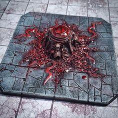 Bloodstone Altar - Custom made by Necrobyss in Etsy. Very Diablo like...