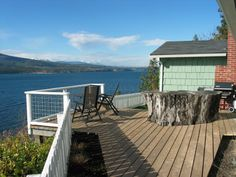 Stay Chevy Chase Beach Cabins in Port Townsend Washington