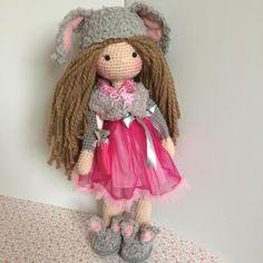 """24"""" crochet doll"""
