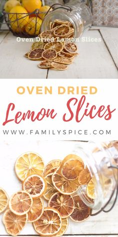 No fancy dehydrator is needed to make your own dried lemon at home. This technique works for oranges, limes and other citrus fruits, too! Once dried you can add them to hot tea, soups, stews or even mix in your homemade potpourri. Dried Orange Slices, Dried Oranges, Oranges And Lemons, Dried Orange Peel, Dried Fruit, Homemade Potpourri, Potpourri Recipes, Fruits Déshydratés, Handmade Soaps