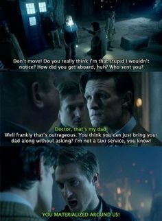 the doctor needs rory because, occasionally, he needs someone to yell at him when he's wrong