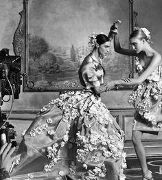Fashion shoot.