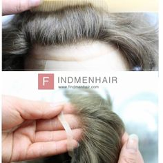 Realistic Remi Human Hair Wigs For Men With Baldness For Online Sale