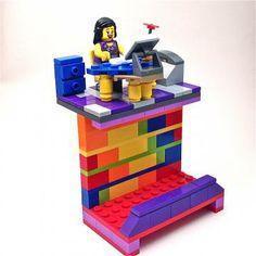 29 best lego business card holders images on pinterest business custom business card holder made w lego bricks colourmoves