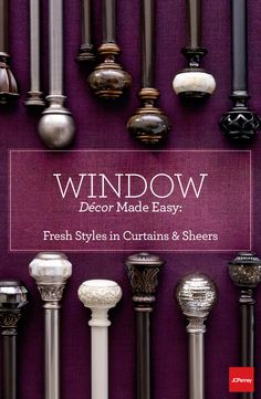 Quick tip: use curtains on a strategically placed drapery rod to create the illusion of taller or wider windows. Using curtains and drapery in all the right ways is one of the easiest tricks to give your common areas a quick refresh.