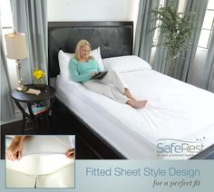 Queen Size SafeRest Premium Hypoallergenic Waterproof Mattress Protector - Vinyl Free - http://astore.amazon.com/home_garden_tools-20