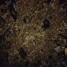 An amazing picture of Paris, the aptly-named city of lights! I think it is the best yet – it was taken by Oleg Novitsky my Russian colleage and Soyuz commander, he is a man of many talents, and also the best of us at night-time photography. Our Russian colleagues have a 400 mm lens with a focus memory setting: set your focus during the day, store it in memory and use it during a night pass, when light is too low for autofocus, and manual focus is very challenging. It's the perfect weapon for…