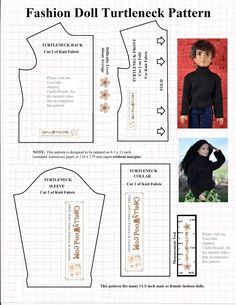 FREE printable pattern fits Liv dolls, and even male – Free Doll Clothes Patterns Diy Ken Doll Clothes, Sewing Barbie Clothes, Monster High Doll Clothes, Barbie Sewing Patterns, Doll Dress Patterns, Sewing Dolls, Sewing Patterns Free, Clothing Patterns, Ken Barbie Doll