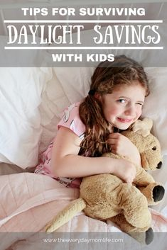 8 Tips For Surviving Daylight Savings With Kids