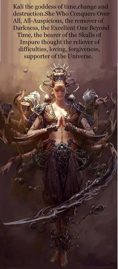 What is history to someone is Mythology to another. Kali Ma, Kali Goddess, Mother Goddess, Divine Goddess, Mother Kali, Sacred Feminine, Feminine Energy, Hindu Deities, Indian Gods