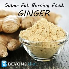 Ginger is delicious, great at quickly conquering a myriad of nagging ailments, helps accelerate your metabolism, and assists in reducing stomach bloating by helping food digest properly.