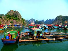 Cat Ba Island, Vietnam Fishing Villages http://TwistedFootsteps.com