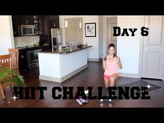 21 DAY HIIT CHALLENGE - DAY 6