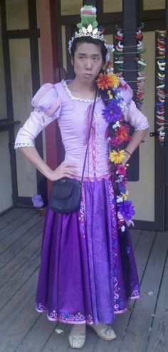 Rapunzel Tangled Dress by AllenGale on Etsy, $450.00