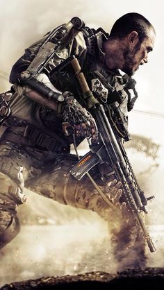 Video Game, Call of Duty: Advanced Warfare, Call of Duty Mobile Wallpaper Freies Spiel und T. - Best of Wallpapers for Andriod and ios Call Of Duty Aw, Call Off Duty, Call Of Duty Black, Mobile Wallpaper, Iphone Wallpaper, Bebe Love, Advanced Warfare, Future Soldier, Game Calls
