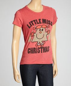 Rust Little Miss Christmas Tee