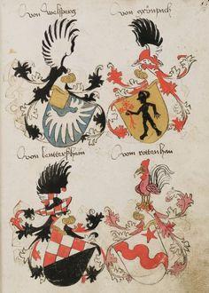 Wappenbuch des St. Galler Abtes Ulrich Rösch Heidelberg · 15. Jahrhundert Cod. Sang. 1084  Folio 56