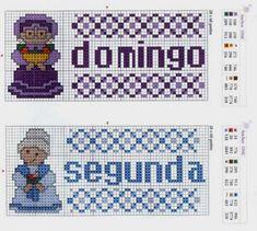Ponto Cruz by Susana: Semaninha da Avó