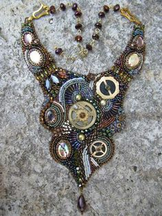 collier rouages steampunk 016