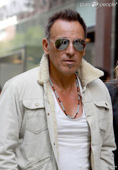 Bruce Springsteen - September 2011 - One of the few photos of The Boss not smiling. Then I looked at the date - booo hooooo all over again :(