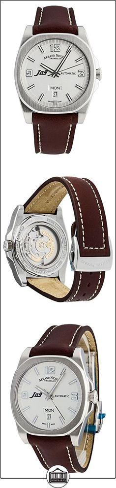 Armand Nicolet J09Day & DATE Automatic 9650A de Ag de pk2420mr  ✿ Relojes para hombre - (Lujo) ✿