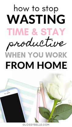 If you work from home and find that you're unfocused and often get distracted, learn about the methods I've used to successfully be more productive with my time, skyrocket my efficiency rate, and get more done in this post. Work From Home Tips, Make Money From Home, Make Money Online, How To Make Money, Work Productivity, Productive Things To Do, Entrepreneur Inspiration, Time Management Tips, Work Life Balance