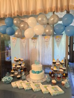 It's a Boy! Baby Shower idea. I threw this for my sister in law.