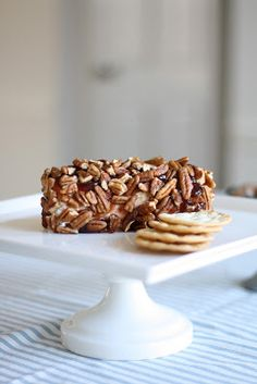 Easy Appetizer | Holiday Goat Cheese Log - Coordinately Yours by Julie Blanner entertaining & design that celebrates life
