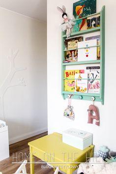 DIY półka na książki