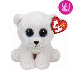 7763876e3a7 Claires   TY Beanie Boos Small Arctic the Polar Bear Soft Toy Christmas  Beanie Boos