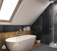 Sloped Ceiling Bathroom, Loft Bathroom, Upstairs Bathrooms, Family Bathroom, Bathroom Design Small, Bathroom Interior Design, Loft Conversion Rooms, Best Living Room Design, Minimalist Bathroom