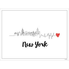 I Love New York Print– Dormify
