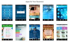 Create a free mobile app with iBuildApp software similar to GoDaddy best website builder. Wedding Website Examples, Website Software, Business Inspiration, Retirement Planning, App Design, Coding, Make It Yourself, How To Plan, Offices