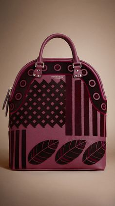 Burberry Bloomsbury Pink Velvet Tote Bag - Fall 2014 - I'M JUST IN LOVE WITH THESE NEW BURBERRY TOTE 2014