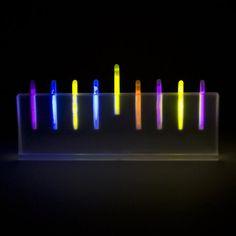 Glowing Menorah - From the Spertus Shop at Spertus Institute in Chicago