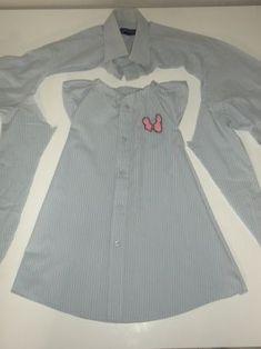 Comment créer des nouveaux vêtements avec de vieilles chemises d'homme ?