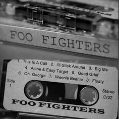 The first Foo Fighters record...