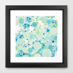 Fresh From the Dairy: Watercolor Dots by Fossilized