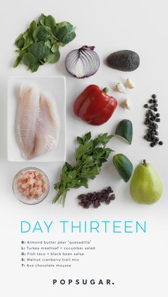 Recipes For Day 13 of Our Clean-Eating Plan http://www.popsugar.com/fitness/2-Week-Clean-Eating-Plan-Day-13-Recipes-39500189?utm_campaign=share&utm_medium=d&utm_source=fitsugar via @POPSUGARFitness