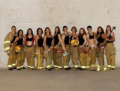 Look at these firefighter women! Damn they are hot.