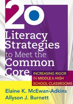 With the advent of the Common Core State Standards and high expectations with regard to content literacy, some secondary teachers are scrambling for what to ...