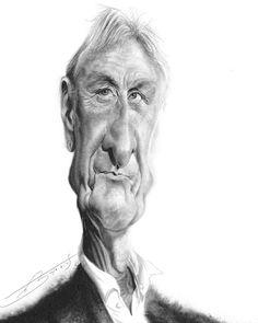 Johan Cruyff por Rivorio Mok