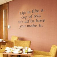 Kitchen Wall Decals, Sayings, and Quotes by WiseDecor Wall Lettering