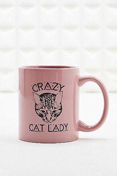 Crazy Cat Lady Mug #covetme #urbanoutfitters